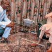 Photos: Obasanjo's son to Buhari: Don't mind my dad