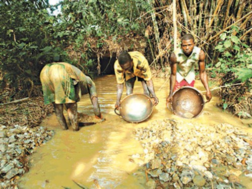 FG moves to reduce high rate of illegal gold mining, smuggling