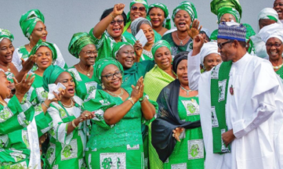 Image result for APC women demand key appointments in Buhari's new cabinet