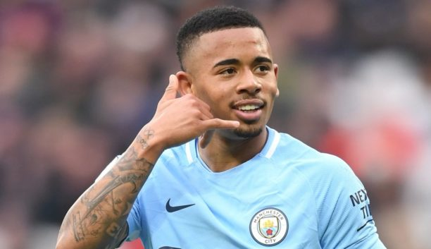 Man City's Jesus already sees his hands round Champions League trophy