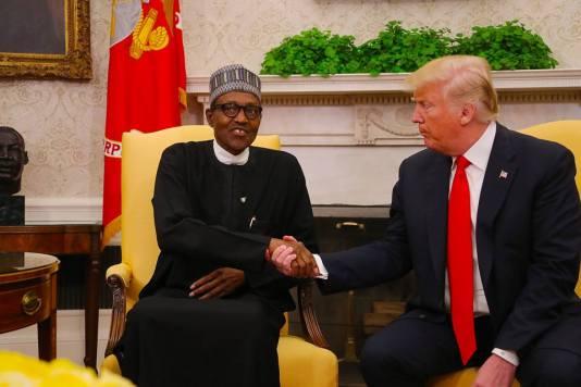 Buhari, Trump, Boko Haram, ISWAP, Nigeria