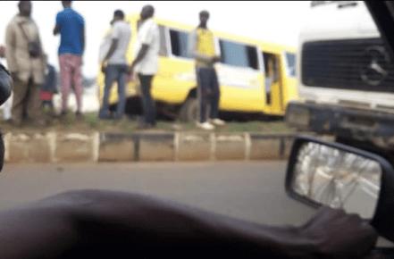 Breaking: School bus conveying over 40 pupils crashes in Ekiti