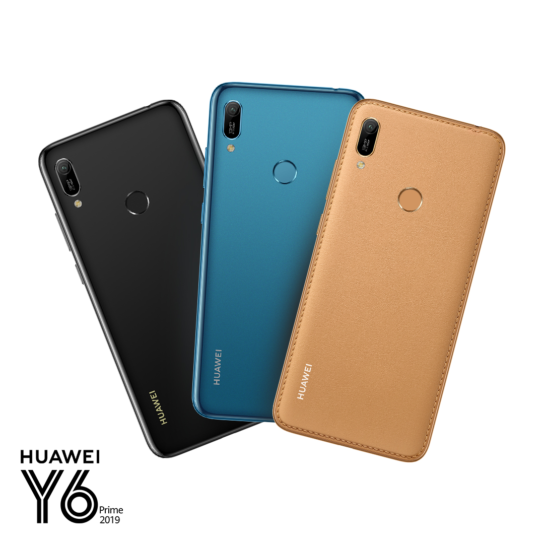 HUAWEI Y6 Prime 2019 - A Fusion of Technology and Aesthetics