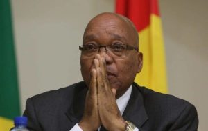 Jacob Zuma, Corruption, Arrest warrant