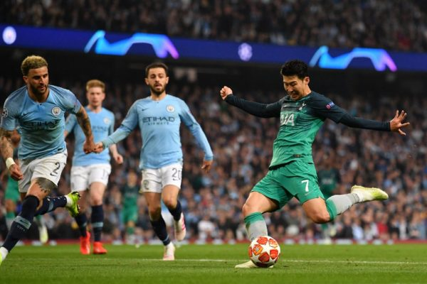 Son shines in the City as Spurs reach Champions League semi final