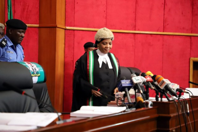 Enconiums for Justice Bulkachuwa, President of the Court of Appeal on her retirement from the bar