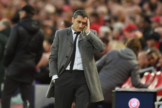 BREAKING: Barcelona sack Valverde, Quique Setien is his replacement