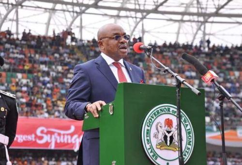 May 27: Emmanuel urges Akwa Ibom children to remain focused on education