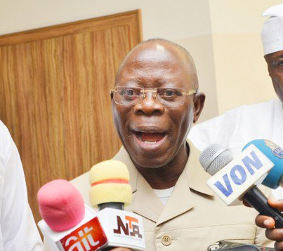 Gunshots, tight security as Oshiomhole visits Benin