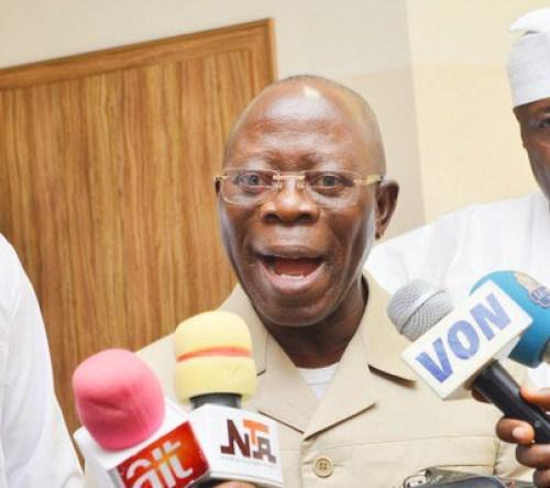 APC: Oyegun, Oshiomhole to campaign for Ize-Iyamu in Edo