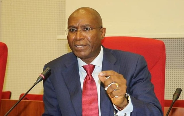 Omo-Agege drums support for Community policing