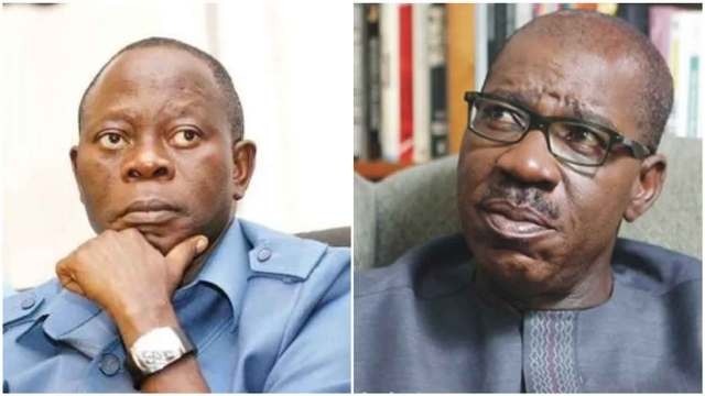 OBASEKI VS OSHIOMHOLE: 'War looms in Edo'