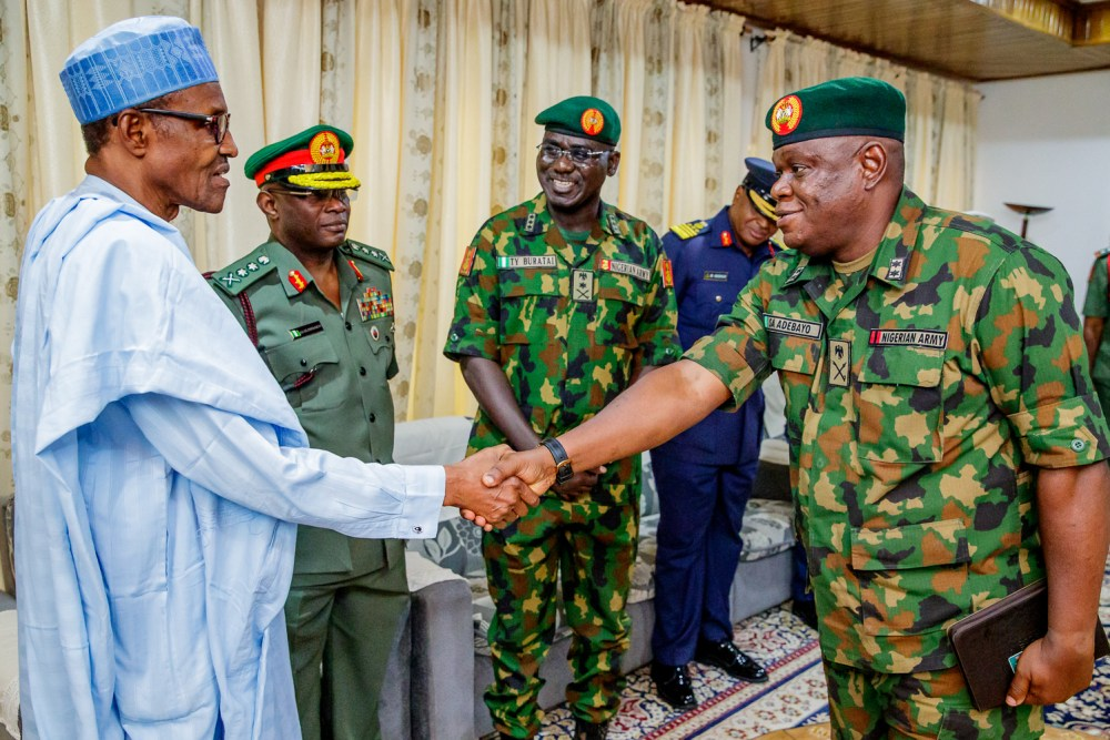 Nigerian Military, Buhari