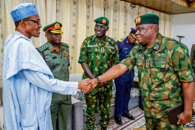 Buhari, Service Chiefs and the Law: Reading the Commander-in-Chief's mind