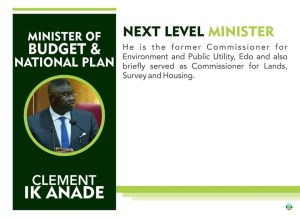 Minister, budget, Agba