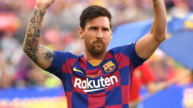 Barca confident Messi can face Mallorca, despite thigh injury