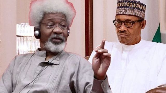 Mr. President is not in charge of this nation - Wole Soyinka reveals