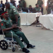 Trend: Prominent Nigerians on crutches, wheelchair, stretcher during trial (Photos)