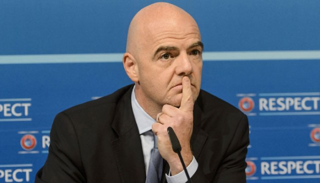 Expect different football after coronavirus saga, says FIFA's Infantino