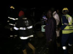 Lagos, fire