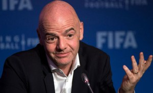 Gianni Infantino, FIFA, Africa