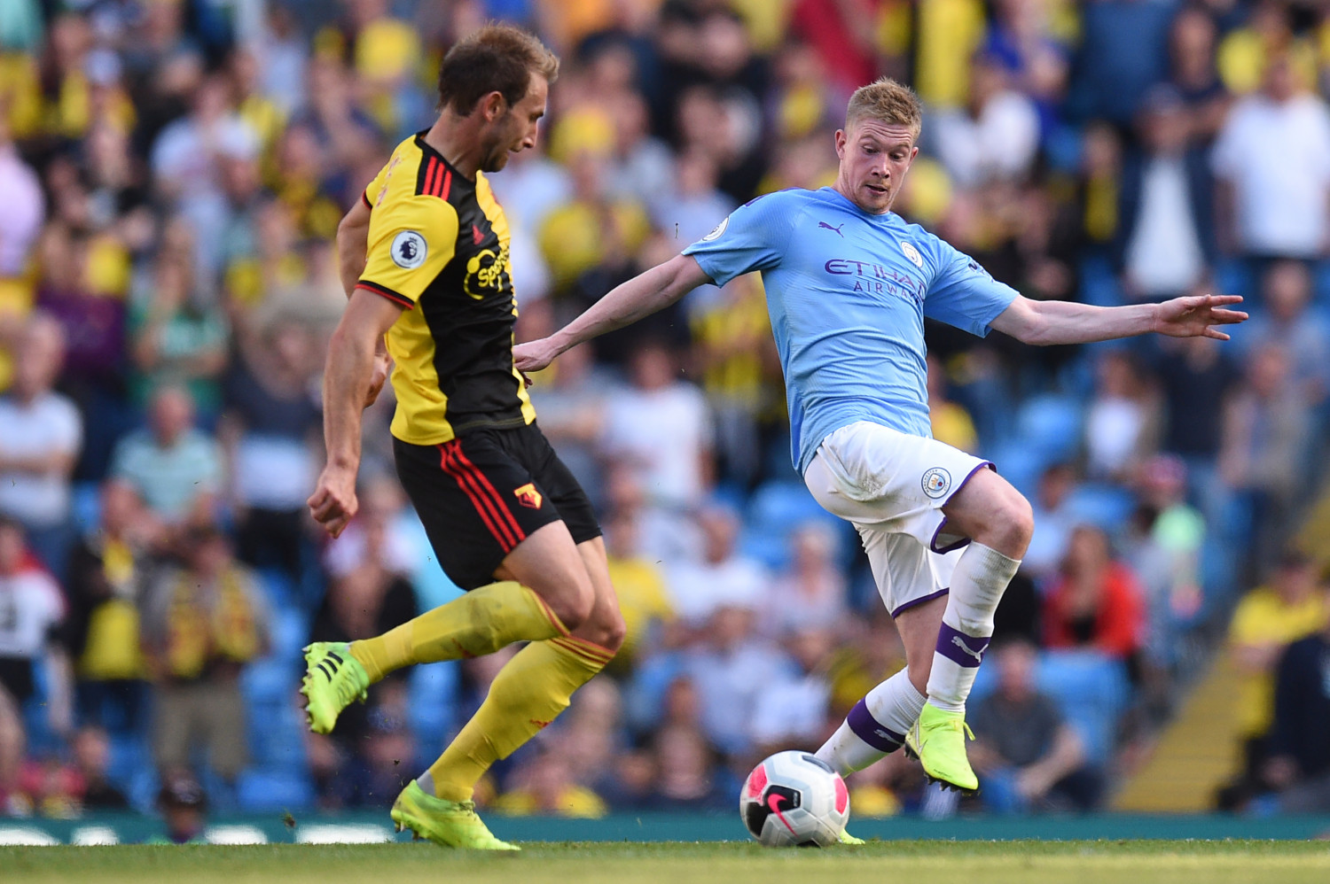 Manchester City Hit Eight In Watford Demolition Spurs Rocked By
