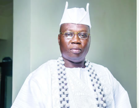 Gani Adams led OOC tto coordinate other local security groups to tackle crimes in the region
