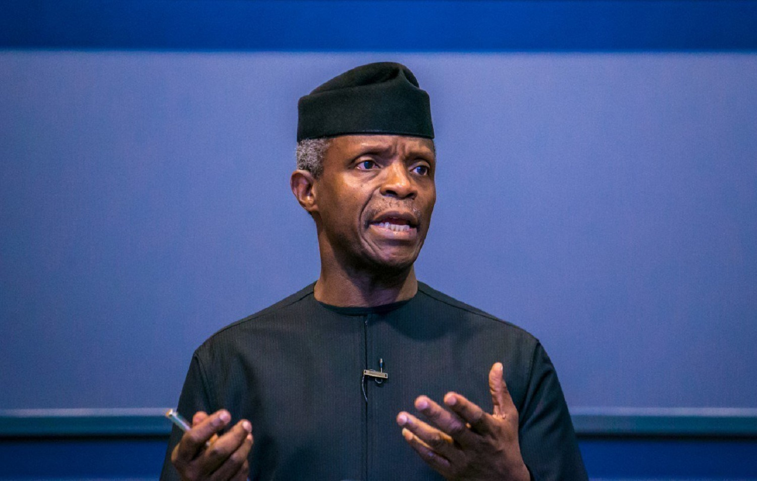 Osinbajo encourages people to be committed to Nigeria's stability and peace.