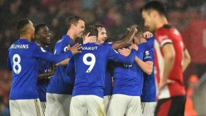 Leicester, Southamton, Rodgers, Vardy