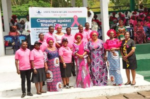 Enugu Governor's wife advises women on cancer prevention