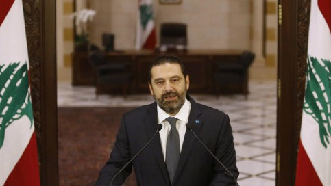 Lebanon's Hariri reemerges PM candidate as Khatib withdraws