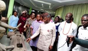 Osinbajo, Obaseki identify Nigeria's cultural diversity, unity as strength at NAFEST townhall