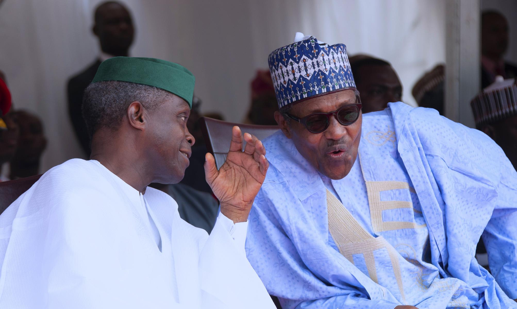 """Buhari, Osinbajo, Sylva for """"Decade of Gas"""" conference"""