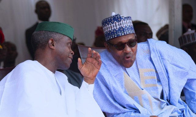 Buhari, Osinbajo, NSIP, APC