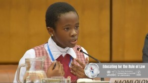 Naomi Oloyede, UNODC, anti-corruption