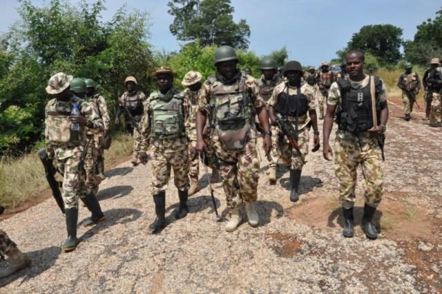 Borno: Troops eliminate 19 fleeing B'Haram fighters in 5 guntrucks