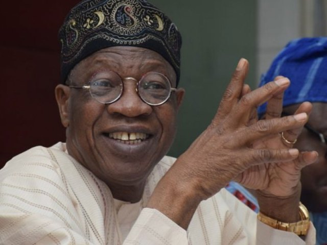 I wholeheartedly agree with Lai Mohammed