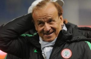 Rohr, Super Eagles