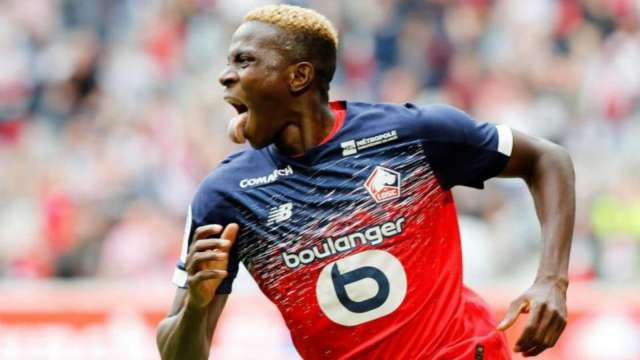 Victor Osimhen fires Lille back to winning ways against Dijon