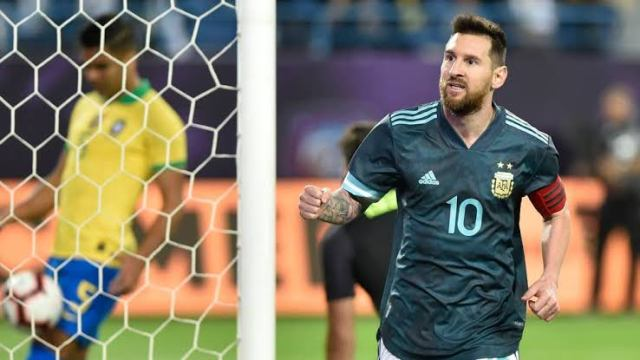 Messi returns with the winning goal for Argentina against Brazil