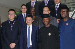 Osinbajo, Alibaba, Jack Ma