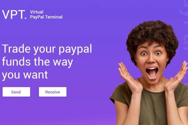 Virtual PayPal Terminal