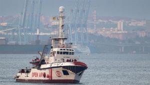Spanish, Migrant, rescue ship