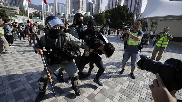Hong Kong, Protesters, elections