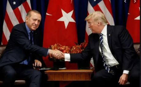 Erdogan meets Trump at White House at testing time for U.S.-Turkey ties