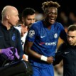 Chelsea still in dark over the extent of Abraham's hip issue