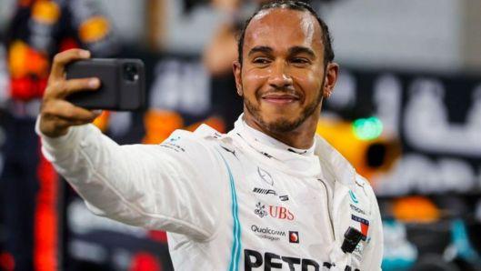 Lewis Hamilton ends pole drought for F1 finale
