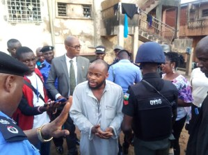 Ibadan, illegal detention camp, police