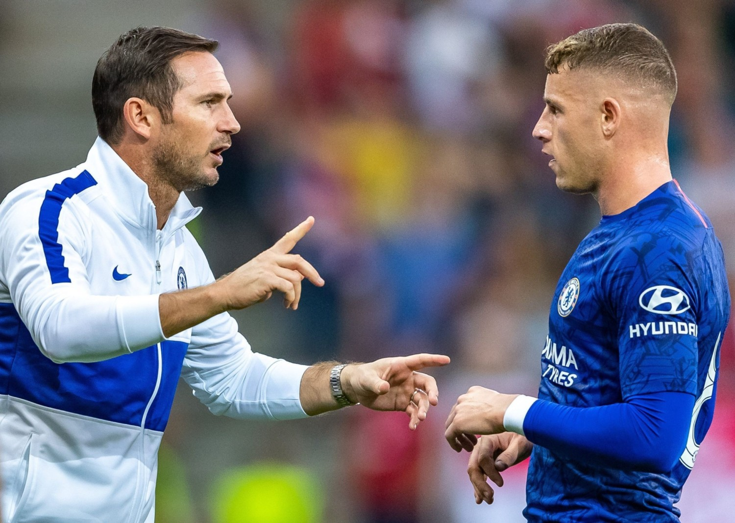 Chelsea boss Lampard calls out Barkley for 'lack of professionalism'
