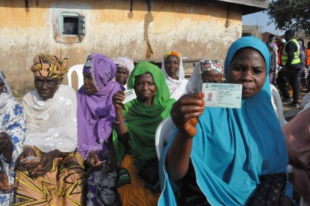 PHOTOS: Massive turnout of voters in Okene as #KogiDecides